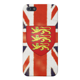 Vintages Gewerkschafts-Jack-Wappen iPhone 5 Cover