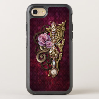 Vintages Girly Jeweled Steampunk OtterBox Symmetry iPhone 8/7 Hülle