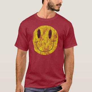 Vintages glückliches smiley-Shirt T-Shirt