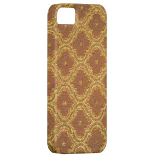 Vintages Goldbrown-Damast-Case-Mate iPhone 5 iPhone 5 Cover