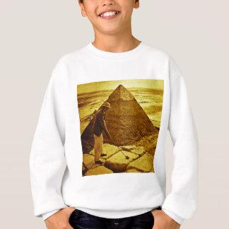 Vintages Golf an den Pyramiden Sweatshirt