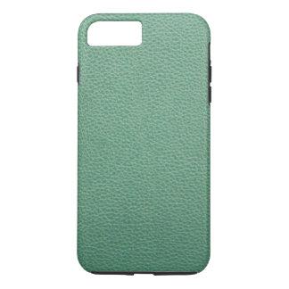 Vintages Grunge-Grün-Leder-Muster iPhone 8 Plus/7 Plus Hülle