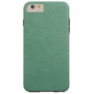 Vintages Grunge-Grün-Leder-Muster Tough iPhone 6 Plus Hülle
