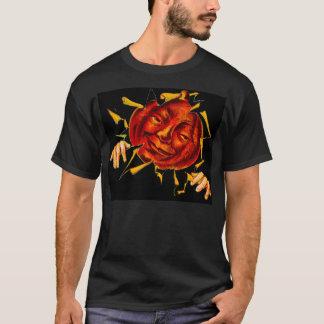 Vintages Halloween JOL in Ihrem T-Shirt