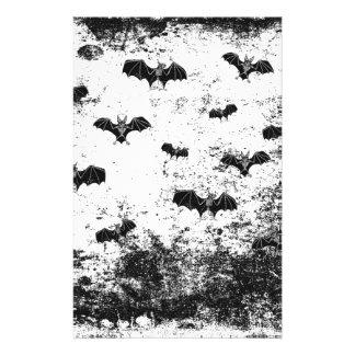 Vintages Halloween-Muster Briefpapier