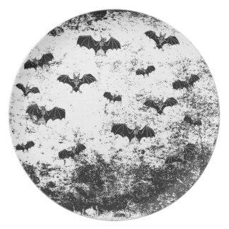 Vintages Halloween-Muster Teller