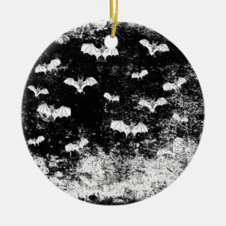 Vintages Halloween-Schlägermuster Keramik Ornament