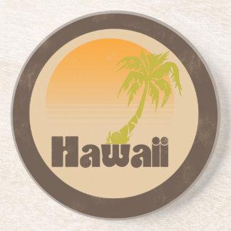 Vintages Hawaii-Logo Untersetzer