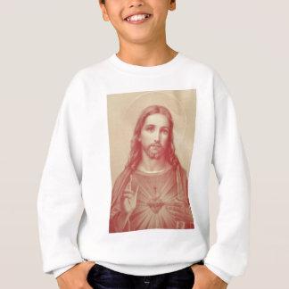 Vintages heiliges Herz von Jesus Sweatshirt