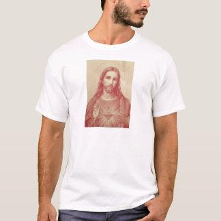 Vintages heiliges Herz von Jesus T-Shirt