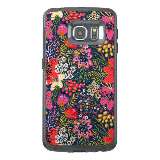 Vintages helles Blumenmuster-Gewebe