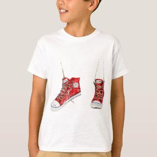Vintages herum schleichen T-Shirt