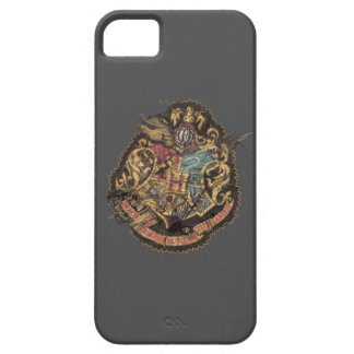 Vintages Hogwarts Wappen Harry Potter   iPhone 5 Etuis