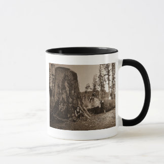 Vintages Holzfäller-magische Laternen-Dia 1903 Tasse