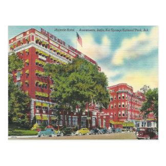 Vintages Hot Springs Arkansas Postkarte