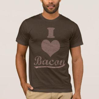 Vintages i-Herz-Speck-Shirt T-Shirt