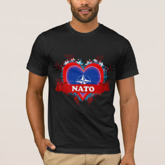 Vintages i-Liebe-NATO T-Shirt