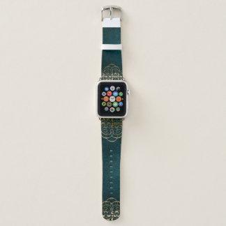 Vintages Imitat-ledernes Buch-Apple-Uhrenarmband Apple Watch Armband