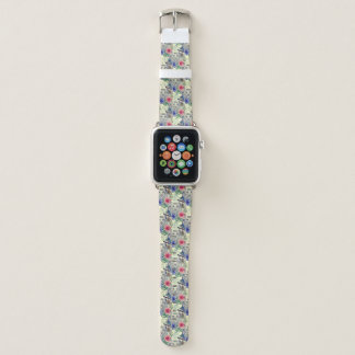 Vintages indisches Art-Tiger-Muster Apple Watch Armband