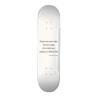 Vintages Inspirational Charakter-Zitat Emerson Individuelle Skateboards