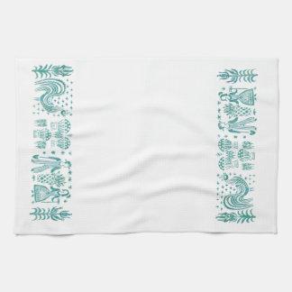 Vintages inspiriertes Tee-Tuch des Aqua-BP Handtücher