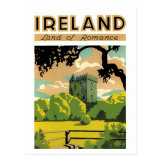 Vintages Irland - Postkarte