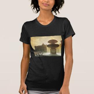 Vintages Italien, Rom, der Vatikan, St Peter T-Shirt