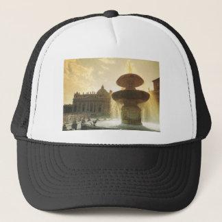 Vintages Italien, Rom, der Vatikan, St Peter Truckerkappe