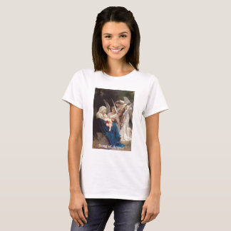 Vintages Jungfrau-Mary-Lied des Engels-T - Shirt