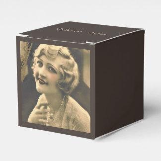 Vintages Junggeselinnen-Abschied Gatsby Brautparty Geschenkschachtel