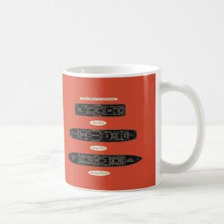 Vintages Kaffeetasse