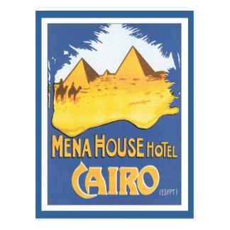 Vintages Kairo Ägypten Postkarten