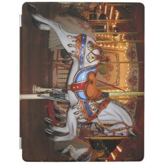 Vintages Karussell-Pferd 001 01 iPad Hülle