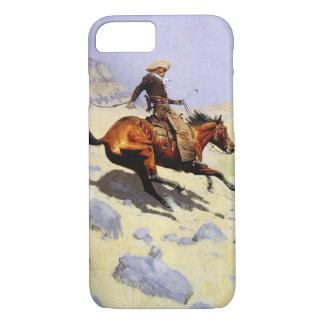 Vintages Kavallerie-Militär, der Cowboy durch iPhone 8/7 Hülle