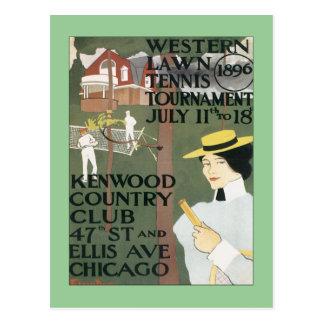 Vintages Kenwood Chicago Postkarte