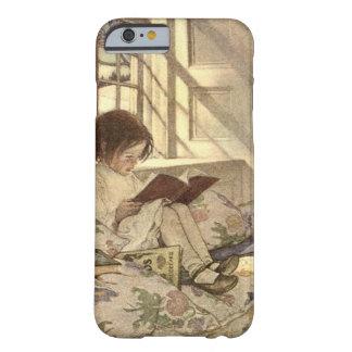Vintages Kind, das ein Buch, Jessie Willcox Smith Barely There iPhone 6 Hülle
