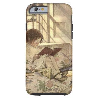 Vintages Kind, das ein Buch, Jessie Willcox Smith Tough iPhone 6 Hülle