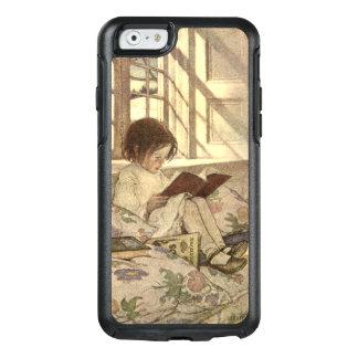 Vintages Kind, das ein Buch, Jessie Willcox Smith OtterBox iPhone 6/6s Hülle