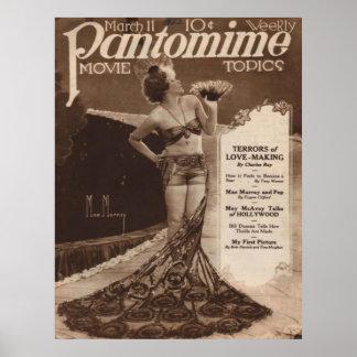 Vintages Kino: Mae Murray Plakat