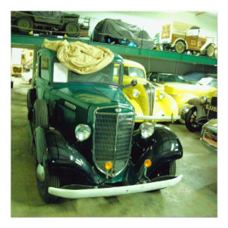 Vintages klassisches Auto 1 Photo Druck