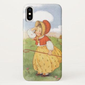 Vintages kleines BO lugen iPhone X Hülle