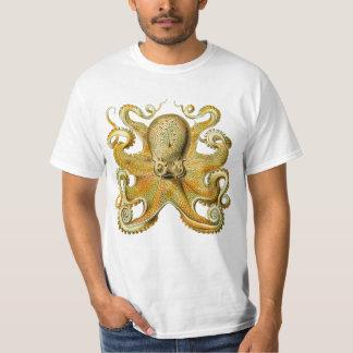 Vintages Kraken, riesige Krake durch Ernst Haeckel T-Shirt