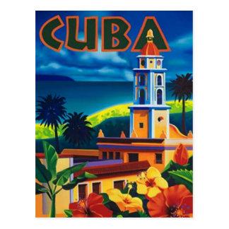 Vintages Kuba - Postkarte