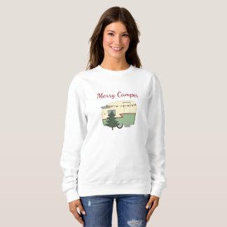 Vintages Lagerbewohner-Weihnachtsfeiertags-Shirt Sweatshirt