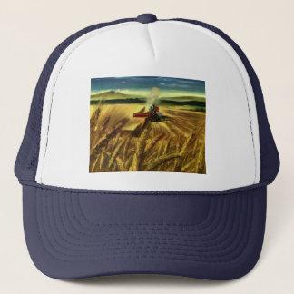 Vintages landwirtschaftliches Bauernhof-Geschäft, Truckerkappe