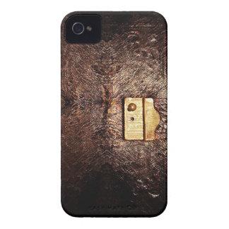 Vintages Leder iPhone 4 Cover