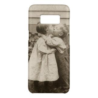 Vintages Liebe-Foto der Kinder, die in einem Case-Mate Samsung Galaxy S8 Hülle