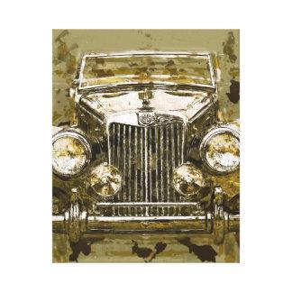 Vintages Magnesium-Sport-Auto Leinwanddruck