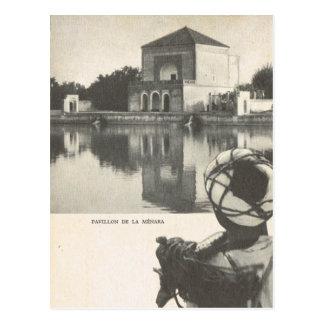Vintages Marrakesch, Maroc Postkarte