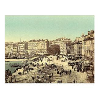 Vintages Marseille, Frankreich - - Postkarte